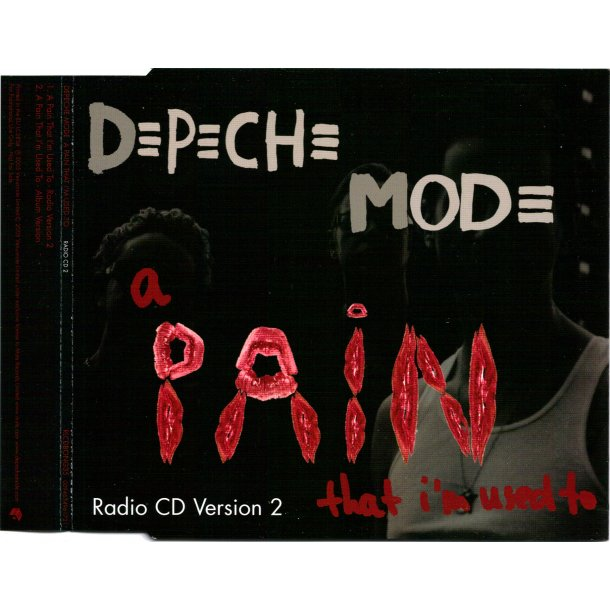A Pain That I'm Used To CD2 - 2005 UK 2-track Radio Promotional Issue CD.