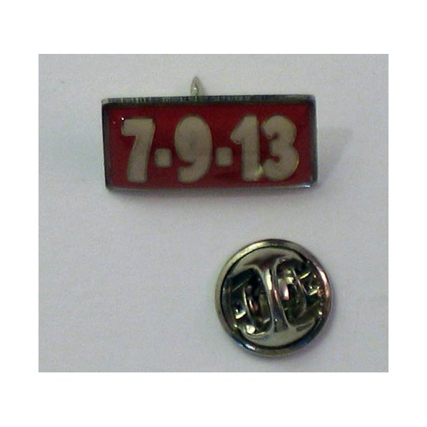 7-9-13 - 2003 Medley-EMI Records Promotional Issue Enamel Pin Badge