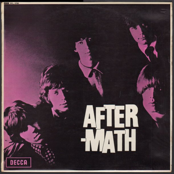 Aftermath - 1968/9 UK 14-track Stereo LP - Nongrooved and unboxed logo Labels
