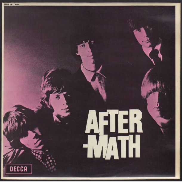 Aftermath - 1970ies UK Decca label 14-track Stereo LP - 2nd Boxed Logo Issue Labels