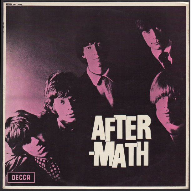 Aftermath - Start 1970ies UK Decca label 14-track Stereo LP - 1st Boxed Labels Issue