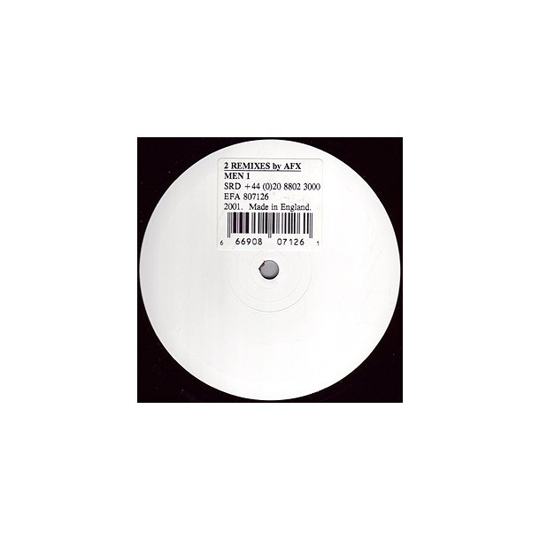 2 Remixes By AFX - UK 12