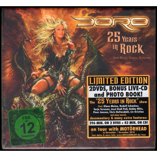 25 Years In Rock... And Still Going Strong - Limited Edition Deluxe Edition - 3-Disc CD/DVD Box Set