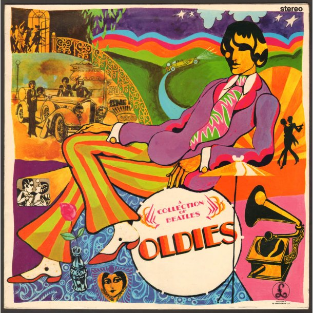 A Collection Of Beatles Oldies - 2nd Danish Stereo Vinyl Issue