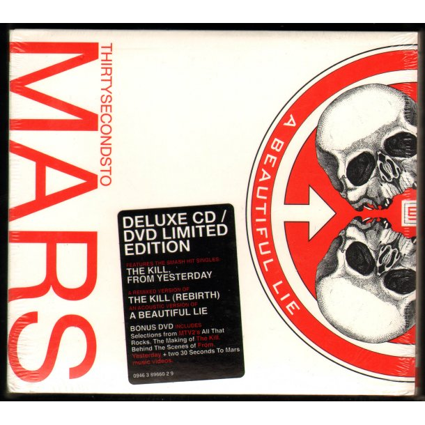 A Beautiful Lie - 2007 European Pressed Limited Deluxe Edition CD/DVD Set
