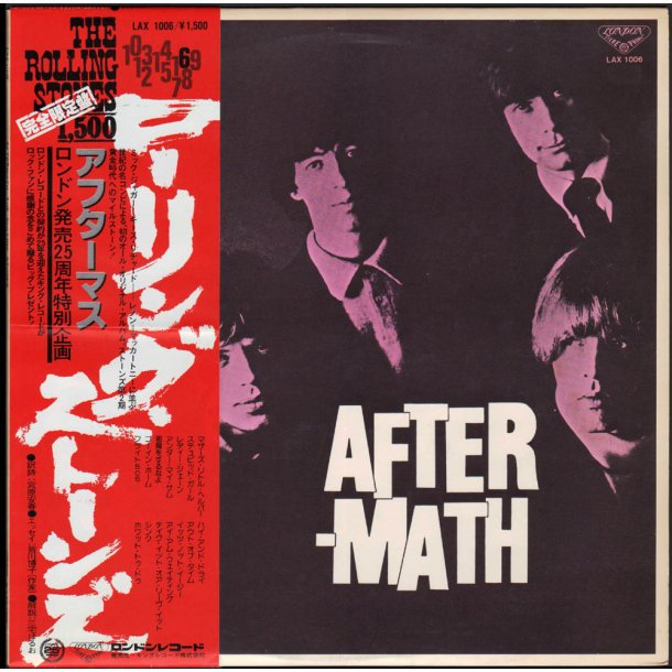 Aftermath - 1978 14-track Japanese LP Issue