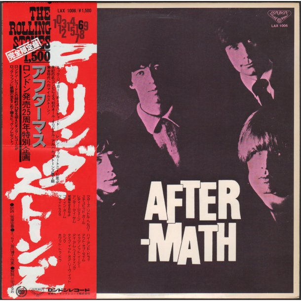Aftermath - 1978 Japanese London label 14-track  Vinyl LP Issue