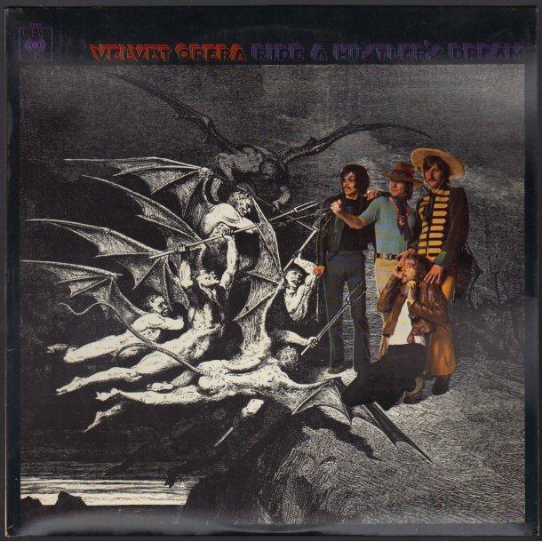 A Hustler's Dream - Original 1969 UK CBS label 11-track Stereo LP