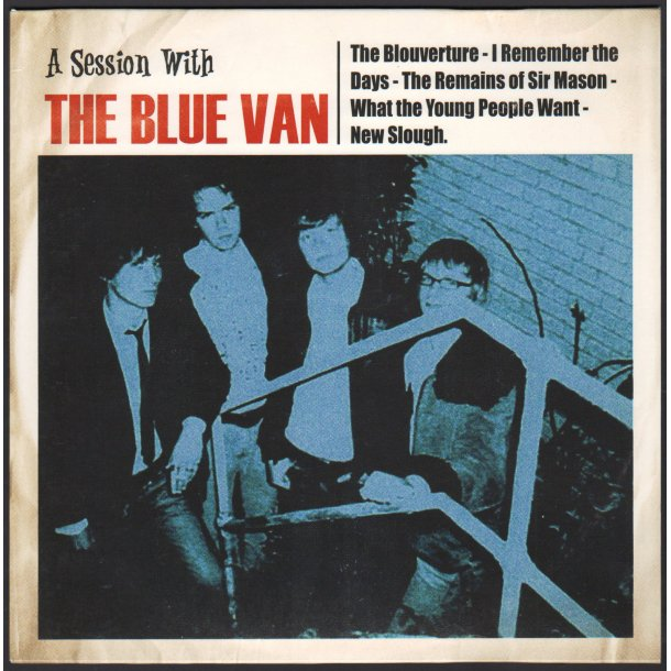 A Session With The Blue Van - 2014 Danish Dacca label 5-track 10