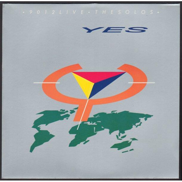 9012Live: The Solos - 1985 German Atco label 7-track LP