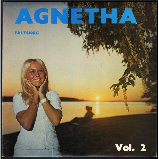 Agnetha Fältskog Vol. 2 - Original 1969 Swedish Cupol label 12-track LP - Blue Labels