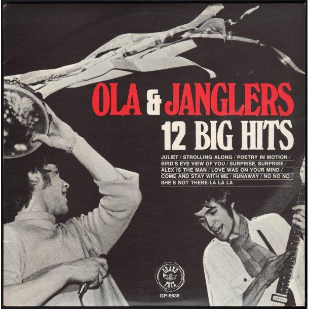 12 Big Hits - 1968 Swedish Grand Prix label 12-track LP