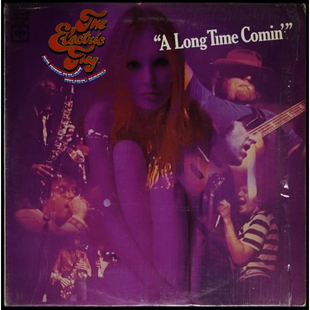A Long Time Comin' - 1970ies US Columbia label 10-track 2nd Issue LP