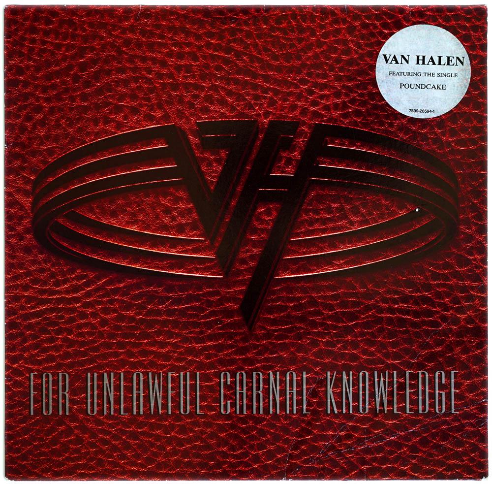 For Unlawful Carnal Knowledge Original 1991 German Pressed Warner Bros Label 11 Track Lp All Products Sound Station