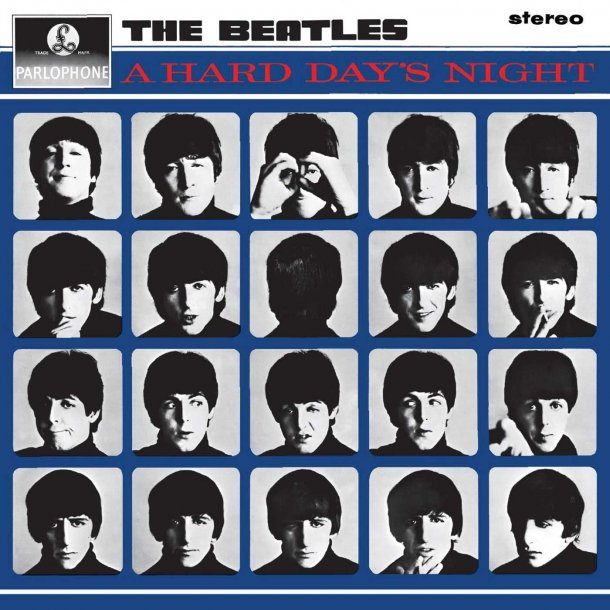 A Hard Day's Night - 2012 European Apple label Remastered 180 g Stereo LP