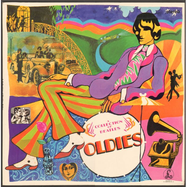 A Collection Of Beatles Oldies - Original Danish Stereo Vinyl issue