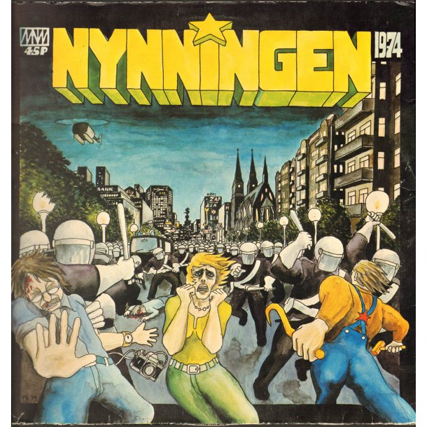 1974 - Original Swedish Vinyl Issue Incl booklet